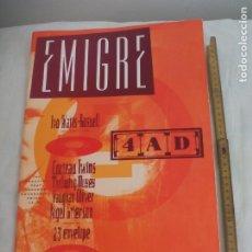 Revistas de música: REVISTA EMIGRE MAGAZINE #9 4AD. Nº 9. COCTEAU TWINS, VAUHAN OLIVER, IVO WATTS RUSSELL. 23 ENVELOPE. Lote 176170034
