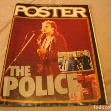 Revistas de música: PÓSTER Nº 3 POPULAR 1 THE POLICE STING. Lote 176187300