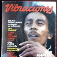 Revistas de música: REVISTA VIBRACIONES Nº 80. BRUCE SPRINGSTEEN, BLONDE, ADAM ANT, PINK FLOYD, RAMONCÍN, BOB MARLEY.... Lote 176228159