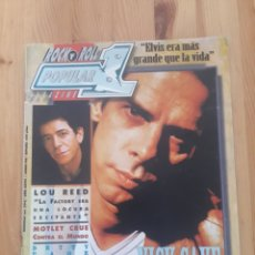 Revistas de música: ROCK N ROLL POPULAR MAGAZINE NICK CAVE LOU REED MOTLEY CRUE. Lote 176413447