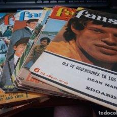 Revistas de música: LOTE DE 17 REVISTAS FANS, DE BRUGUERA AÑOS 60. Lote 176444223