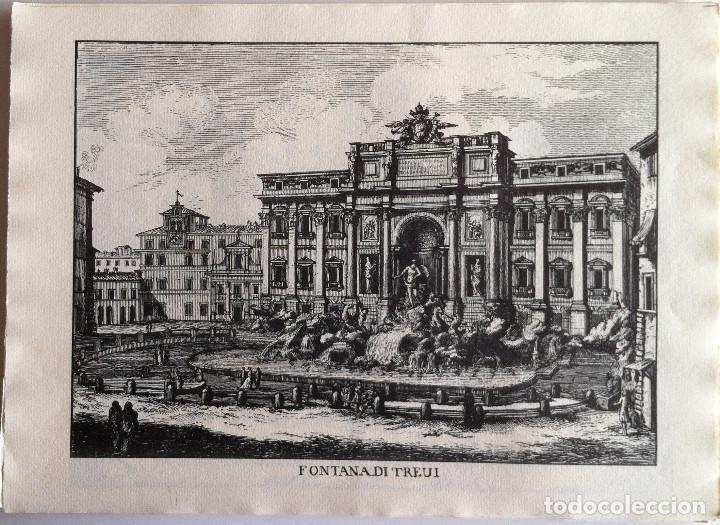 Revistas de música: Le Fontane Di Roma Carpeta (21+1 láminas), Ente provinciale per il turismo di Roma. 1951 - Foto 6 - 176560227