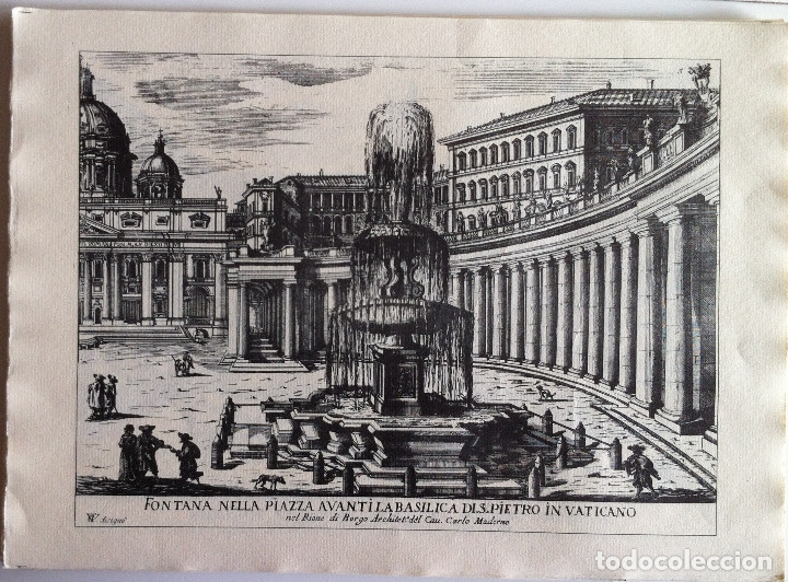 Revistas de música: Le Fontane Di Roma Carpeta (21+1 láminas), Ente provinciale per il turismo di Roma. 1951 - Foto 8 - 176560227