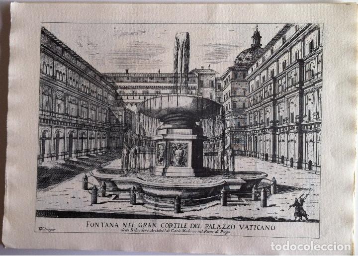 Revistas de música: Le Fontane Di Roma Carpeta (21+1 láminas), Ente provinciale per il turismo di Roma. 1951 - Foto 9 - 176560227