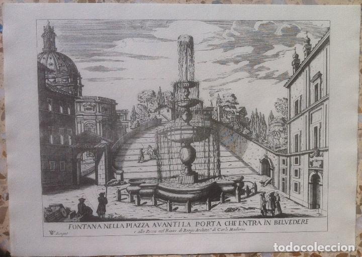 Revistas de música: Le Fontane Di Roma Carpeta (21+1 láminas), Ente provinciale per il turismo di Roma. 1951 - Foto 10 - 176560227