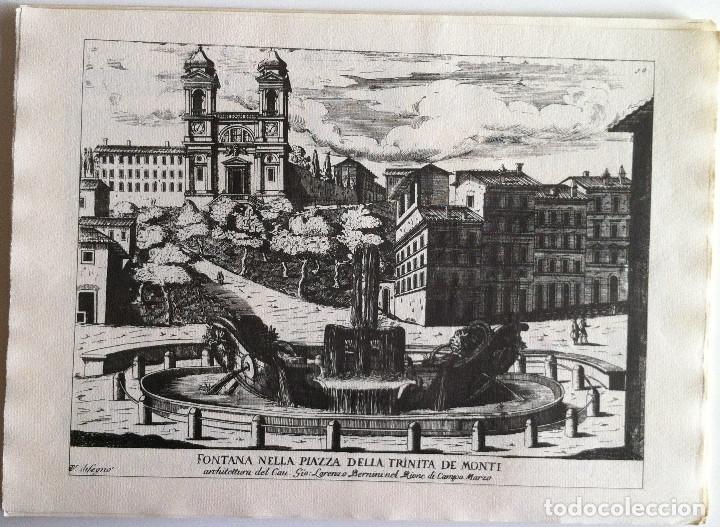 Revistas de música: Le Fontane Di Roma Carpeta (21+1 láminas), Ente provinciale per il turismo di Roma. 1951 - Foto 13 - 176560227