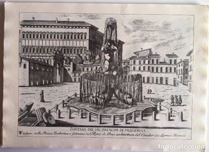 Revistas de música: Le Fontane Di Roma Carpeta (21+1 láminas), Ente provinciale per il turismo di Roma. 1951 - Foto 14 - 176560227