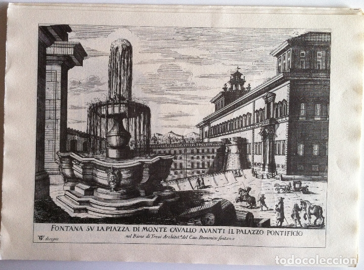 Revistas de música: Le Fontane Di Roma Carpeta (21+1 láminas), Ente provinciale per il turismo di Roma. 1951 - Foto 15 - 176560227