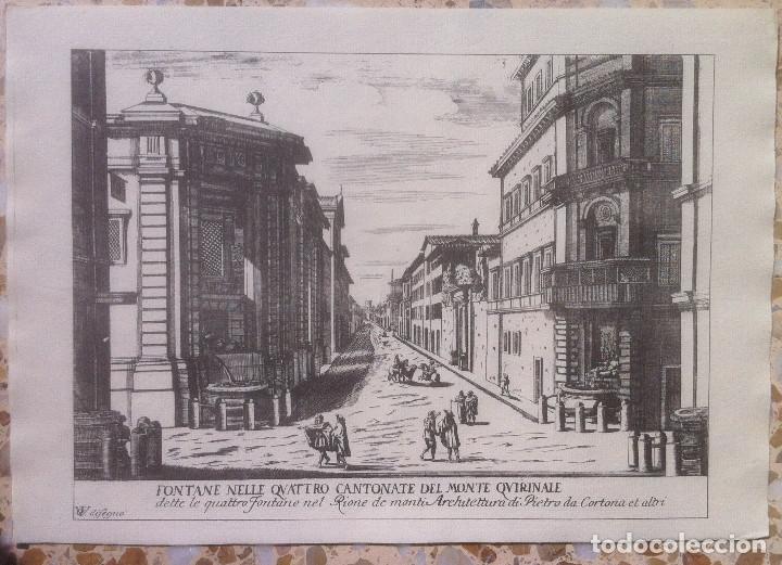 Revistas de música: Le Fontane Di Roma Carpeta (21+1 láminas), Ente provinciale per il turismo di Roma. 1951 - Foto 16 - 176560227