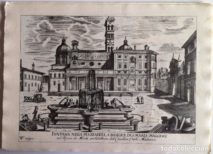 Revistas de música: Le Fontane Di Roma Carpeta (21+1 láminas), Ente provinciale per il turismo di Roma. 1951 - Foto 18 - 176560227