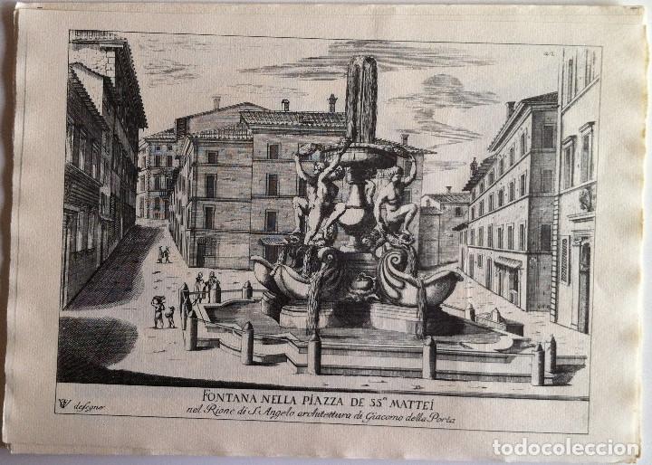 Revistas de música: Le Fontane Di Roma Carpeta (21+1 láminas), Ente provinciale per il turismo di Roma. 1951 - Foto 21 - 176560227