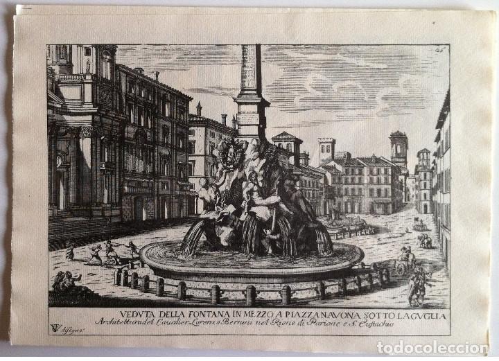 Revistas de música: Le Fontane Di Roma Carpeta (21+1 láminas), Ente provinciale per il turismo di Roma. 1951 - Foto 23 - 176560227