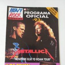 Revistas de música: HEAVY ROCK ESPECIAL Nº 14 METALLICA, EDICION PARA COLECCIONISTAS (CON POSTERS) METAL. Lote 176742423