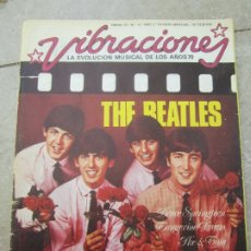 Revistas de música: THE BEATLES - REVISTA VIBRACIONES ENERO 76 / N.16, NO CONTIENE POSTER THE BEATLES - LLUIS LLACH. Lote 176826605