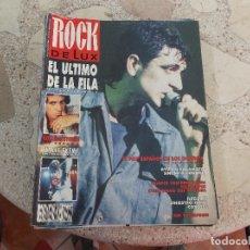 Revistas de música: ROCK DE LUX Nº 65. EL ULTIMO DE LA FILA. ROLLING STONES. ILEGALES. SINIESTRO TOTAL. Lote 221963436