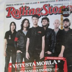Revistas de música: ROLLING STONE REVISTA Nº 139, VETUSTA MORLA, THE CLASH, BOB DYLAN, FOO FIGHTERS, LORI MEYERS, SIDONI. Lote 177940159