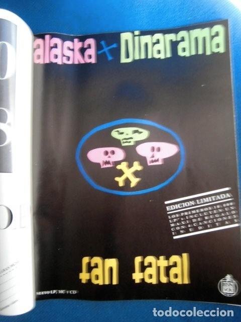 Revistas de música: EL GRAN MUSICAL REVISTA ALSKA Y DINARAMA PROMO DISCO DEMIS ROUSOS BON JOVI EXCELENTE ESTADO - Foto 2 - 178195288