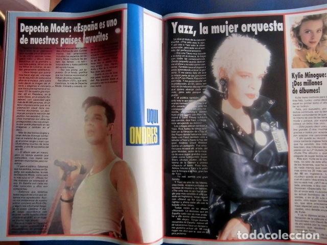 Revistas de música: EL GRAN MUSICAL REVISTA ALSKA Y DINARAMA PROMO DISCO DEMIS ROUSOS BON JOVI EXCELENTE ESTADO - Foto 9 - 178195288
