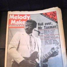 Revistas de música: CHUCK BERRY PERIODICO MELODY MAKER ROCK 'N'ROLL ORIGINAL EPOCA ENGLAND COMPLETO COLECCION. Lote 178260538