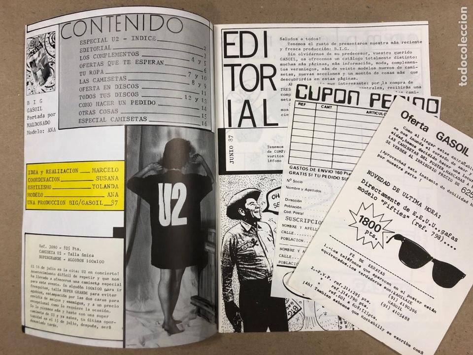 Revistas de música: BIG GASOIL N° 9 (MADRID, 1987). HISTÓRICO FANZINE ORIGINAL DE PEDIDOS LPs, ROPA, CÓMICS, MALDONADO P - Foto 2 - 178291043