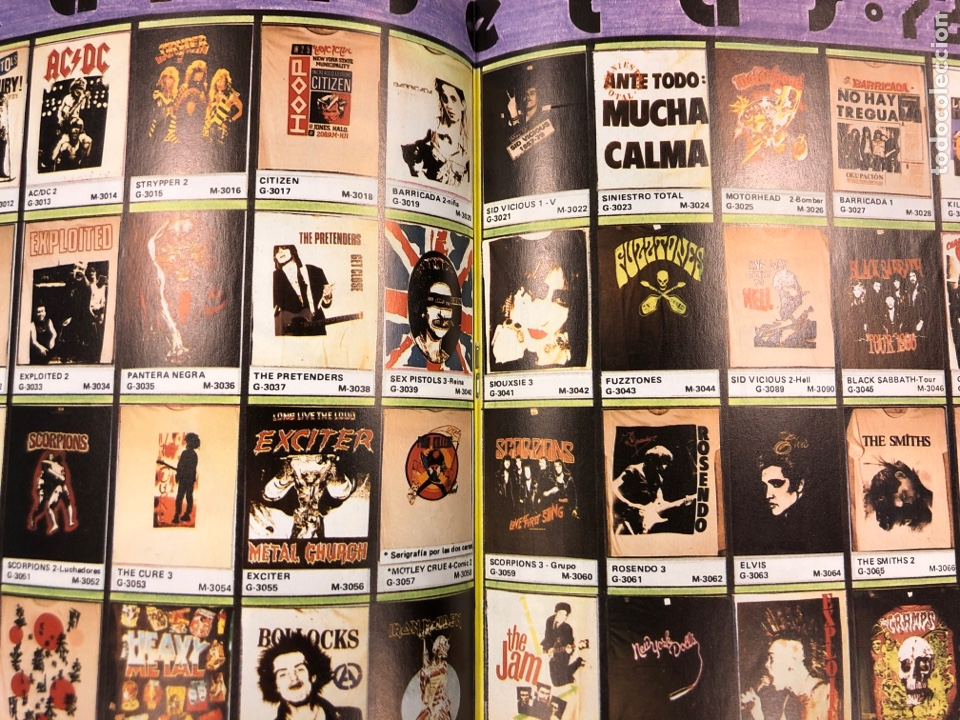 Revistas de música: BIG GASOIL N° 9 (MADRID, 1987). HISTÓRICO FANZINE ORIGINAL DE PEDIDOS LPs, ROPA, CÓMICS, MALDONADO P - Foto 3 - 178291043