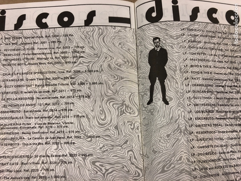 Revistas de música: BIG GASOIL N° 9 (MADRID, 1987). HISTÓRICO FANZINE ORIGINAL DE PEDIDOS LPs, ROPA, CÓMICS, MALDONADO P - Foto 4 - 178291043