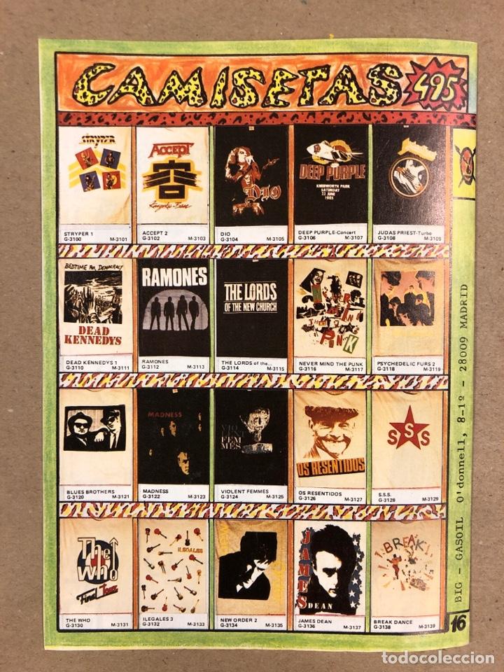 Revistas de música: BIG GASOIL N° 9 (MADRID, 1987). HISTÓRICO FANZINE ORIGINAL DE PEDIDOS LPs, ROPA, CÓMICS, MALDONADO P - Foto 5 - 178291043