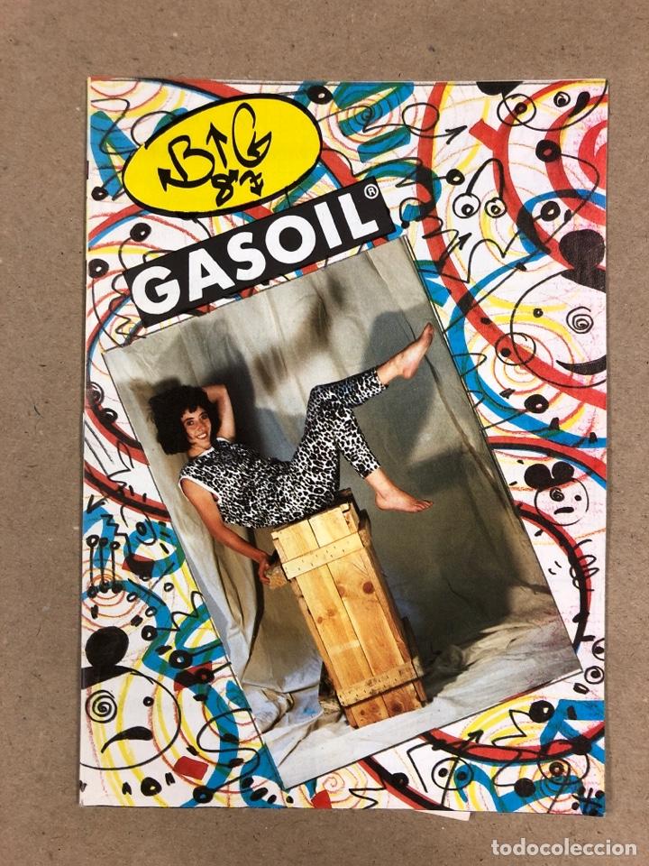 BIG GASOIL N° 9 (MADRID, 1987). HISTÓRICO FANZINE ORIGINAL DE PEDIDOS LPS, ROPA, CÓMICS, MALDONADO P (Música - Revistas, Manuales y Cursos)