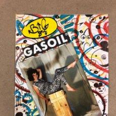 Revistas de música: BIG GASOIL N° 9 (MADRID, 1987). HISTÓRICO FANZINE ORIGINAL DE PEDIDOS LPS, ROPA, CÓMICS, MALDONADO P. Lote 178291043