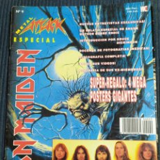 Magazines de musique: REVISTA METAL ATTACK Nº 9 ESPECIAL IRON MAIDEN CON POSTERS EXTRA. Lote 178384168