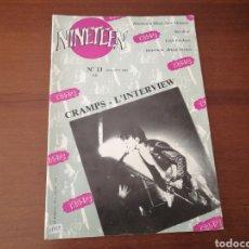Revistas de música: NINETEEN MAGAZINE 11 CAMPS L'INTERVIEW 1984. Lote 178755392
