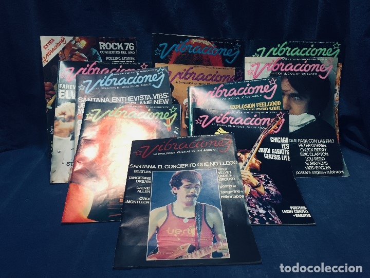 LOTE 10 REVISTAS VIBRACIONES MAS 1 REVISTA EXTRA (Música - Revistas, Manuales y Cursos)