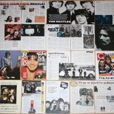 Revistas de música: THE BEATLES LOTE PRENSA UK CLIPPINGS 1990S/00S MAGAZINE ARTICLES PHOTOS GEORGE HARRISON. Lote 127911523