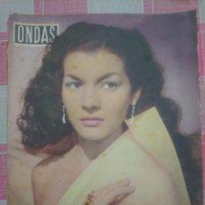 Revistas de música: LILIAN DE CELIS REVISTA ONDAS N. 114 AÑO 1957. Lote 179554697