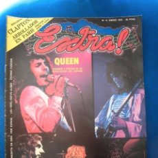 Revistas de música: QUEEN REVISTA EXTRA ORIGINAL ESPECIAL POSTER ESPAÑA 1975 COMPLETA EXCELENTE ESTADO DE CONSERVACION . Lote 179952848