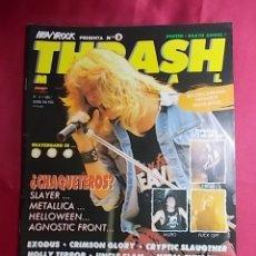 Revistas de música: REVISTA THRASH METAL.AÑO 1. Nº 3. CON POSTER. Lote 257571675
