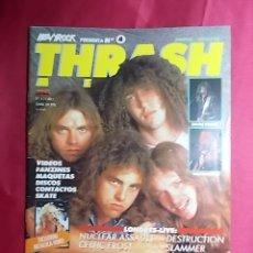 Revistas de música: REVISTA THRASH METAL.AÑO 1. Nº 4. CON POSTER. Lote 257571680