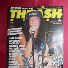 Revistas de música: REVISTA THRASH METAL.AÑO 1. Nº 5. CON POSTER . Lote 180042023