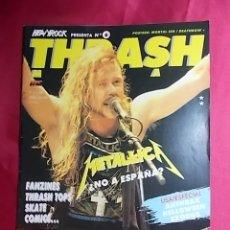 Revistas de música: REVISTA THRASH METAL.AÑO 1. Nº 6. CON POSTER. Lote 257571870