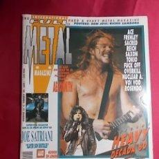 Revistas de música: REVISTA THE FULL METAL. AÑO 1. Nº 2. 1990. CON POSTER Y LIBRETO . Lote 180042736