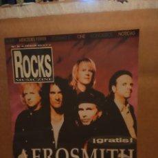 Revistas de música: ROCKS MUSICZINE : AEROSMITH . Lote 180097755