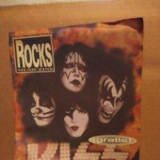 Revistas de música: ROCKS MUSICZINE : KISS . Lote 180097853