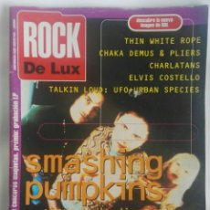 Revistas de música: REVISTA ROCK THE LUX N° 107 RONALDOS ELVIS COSTELLO CHARLATANS. Lote 180146988