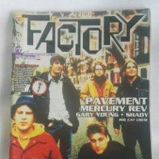 Revistas de música: REVISTA FACTORY N° 7 ROCK. Lote 180147227
