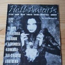 Revistas de música: 'HELL AWAITS' - Nº 3. Lote 180188433