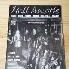 Revistas de música: 'HELL AWAITS' - Nº 4. Lote 180188647