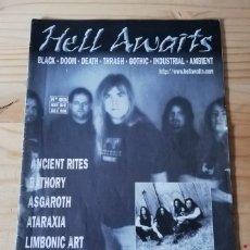 Revistas de música: 'HELL AWAITS' - Nº 5. Lote 180189297