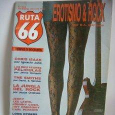 Revistas de música: REVISTA RUTA 66 Nº-2 EROTISMO-ROCK AÑO 1985. Lote 180194501