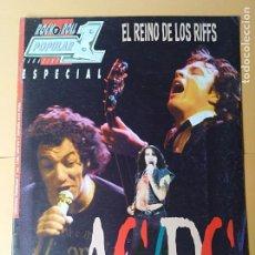 Revistas de música: REVISTA AC / DC EXTRA POPULAR 1 MUSICA NUMERO ESPECIAL. Lote 180287048