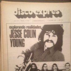Riviste di musica: DISCO EXPRES 346:JESSIE COLIN YOUNG,KRAFTWERK,BEE GEES,STEVE HARLEY,NOVA CANTIGA GALEGA,A.PRADA,BAEZ. Lote 180340748